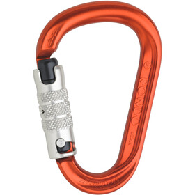 AustriAlpin HMS Rondo 3-Way Autolock Carabiner with Selfie red anodized